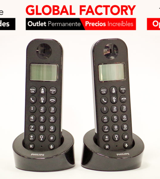 TELÉFONO INALÁMBRICO PHILIPS D120 DUO